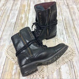 Steve Madden Shoes - Steve Madden | Troops 2.0 Combat Black Ankle Boot